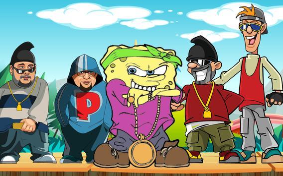 Sponge Running Boy Island apk screenshot