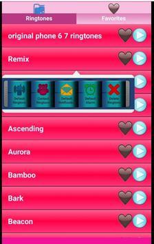 Original Phone 7 Ringtones apk screenshot