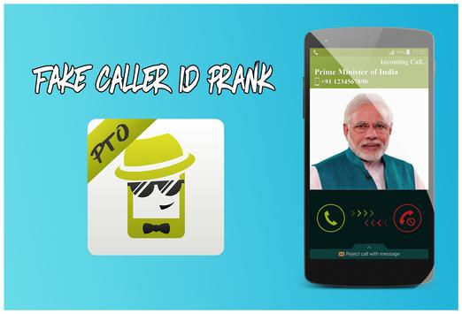 spoof fake caller id poster