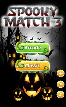 Spooky Match 3 Hotel poster