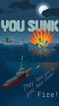 You Sunk - Submarine Torpedo Attack poster