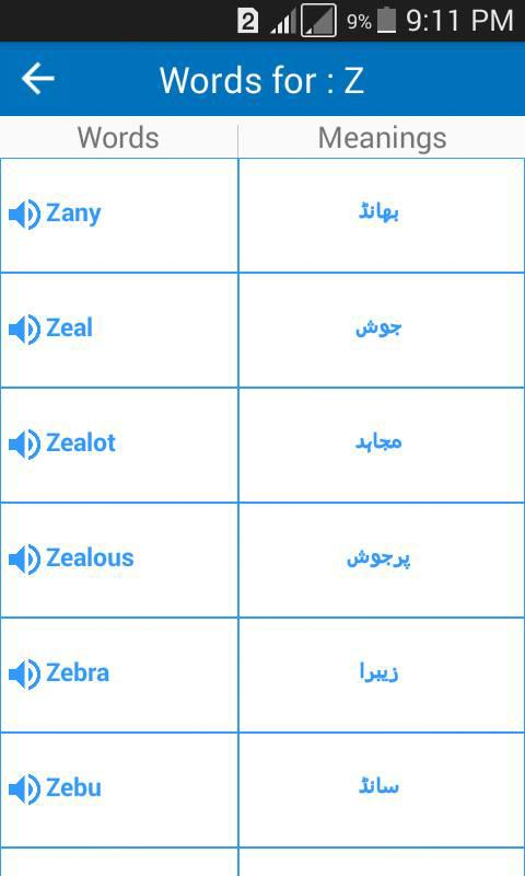 Spoken Vocabulary in Urdu for Android - APK Download