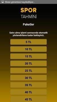 Spor Tahmin screenshot 1
