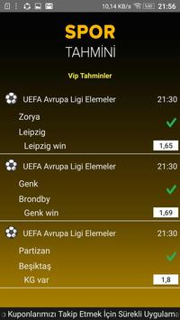 Spor Tahmin screenshot 2
