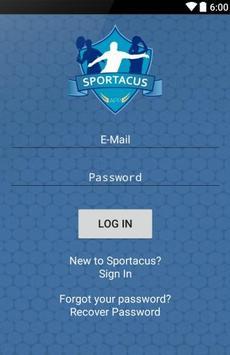 Sportacus screenshot 1