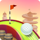 Mini Golf Paradise Sim : Track Builder icon