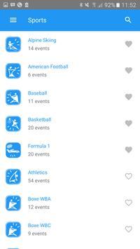 Sport O'Clock apk screenshot