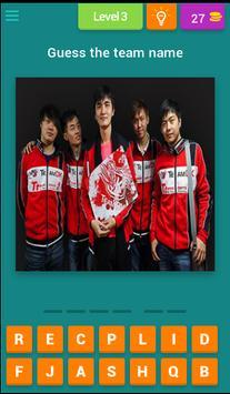 Guess ESports Teams poster