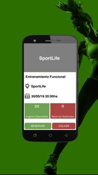 SportLife: Entrenamiento Inteligente poster