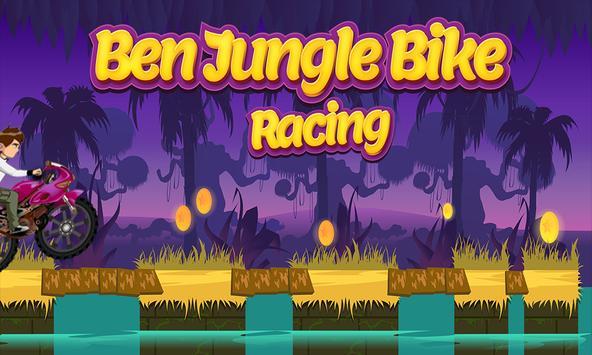 Ben Jungle Bike Racing poster