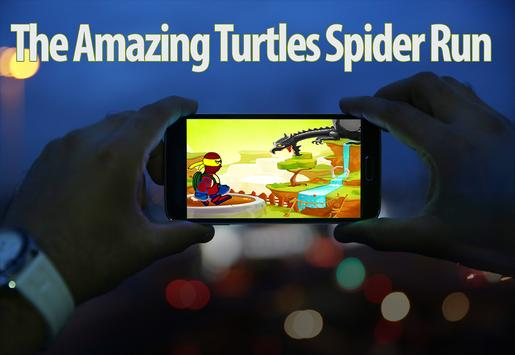 The Amazing Turtles Spider Run poster