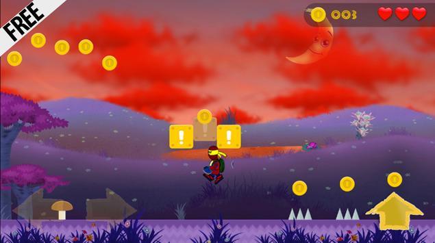 The Amazing Turtles Spider Run apk screenshot