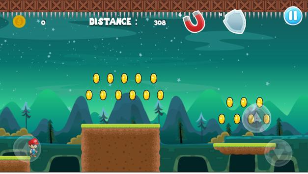 Super jungle boy run apk screenshot