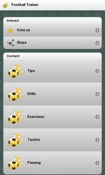 مدرب كرة القدم الملصق
