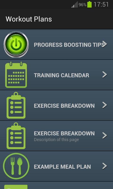 Planos de treino apk baixar gr tis sa de e fitness for App para hacer planos