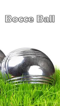 Bocce Ball poster