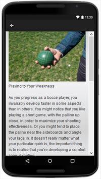 Bocce Ball apk screenshot