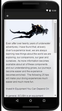 Diving apk screenshot