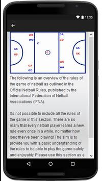 Netball apk screenshot