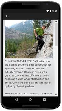 Rock Climbing apk screenshot
