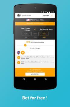 Sport betting game - Betsy apk screenshot