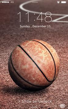 Basketball NBA PassWord Lock poster