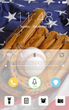 Baseball Password Lock apk screenshot