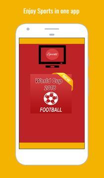 Football World Cup 2018 Live Game screenshot 1