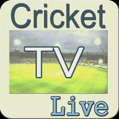 Live Cricket TV and Score News icon