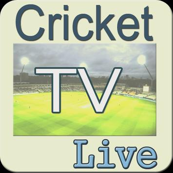 Live Cricket TV and Score News poster