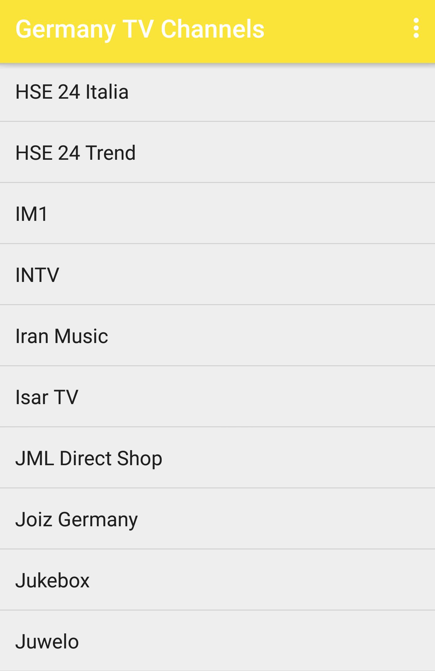Germany TV Channels Streaming for Android - APK Download