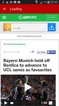 Soccer News Feed screenshot 3