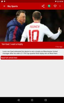 Soccer News Feed screenshot 8