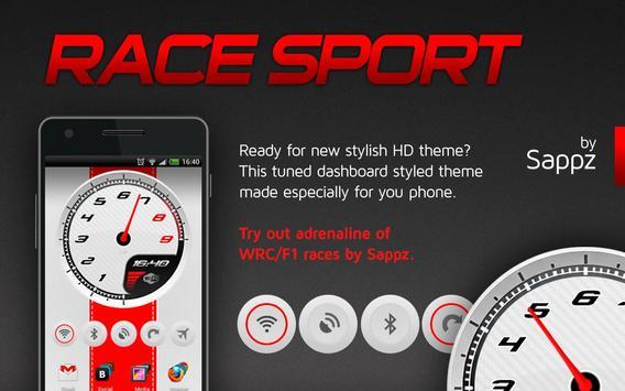 Race Sport HD Widgets apk screenshot