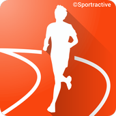 Sportractive GPS Running Cycling Distance Tracker आइकन