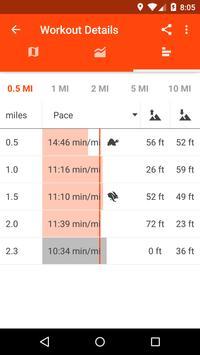 Sportractive GPS Running Cycling Distance Tracker apk स्क्रीनशॉट