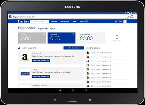 Everton Browser - Official apk screenshot