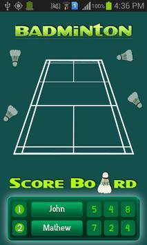 Best Badminton Scoreboard poster