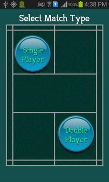 Best Badminton Scoreboard screenshot 1