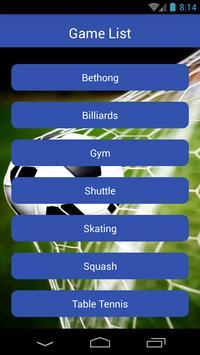 Sports apk screenshot