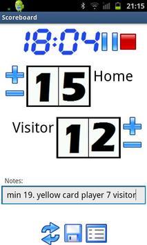 Scoreboard & Timer poster