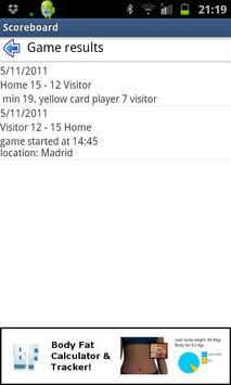 Scoreboard & Timer apk screenshot