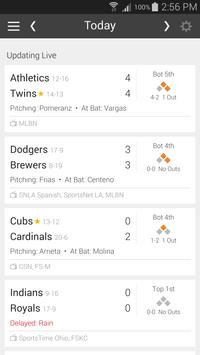 Baseball Schedule for Rockies: Live Scores & Stats apk screenshot