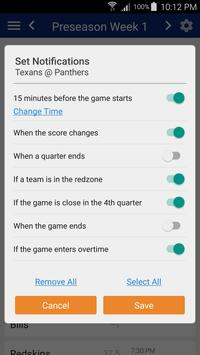 Football Schedule for SF 49ers, Live Scores, Stats apk screenshot