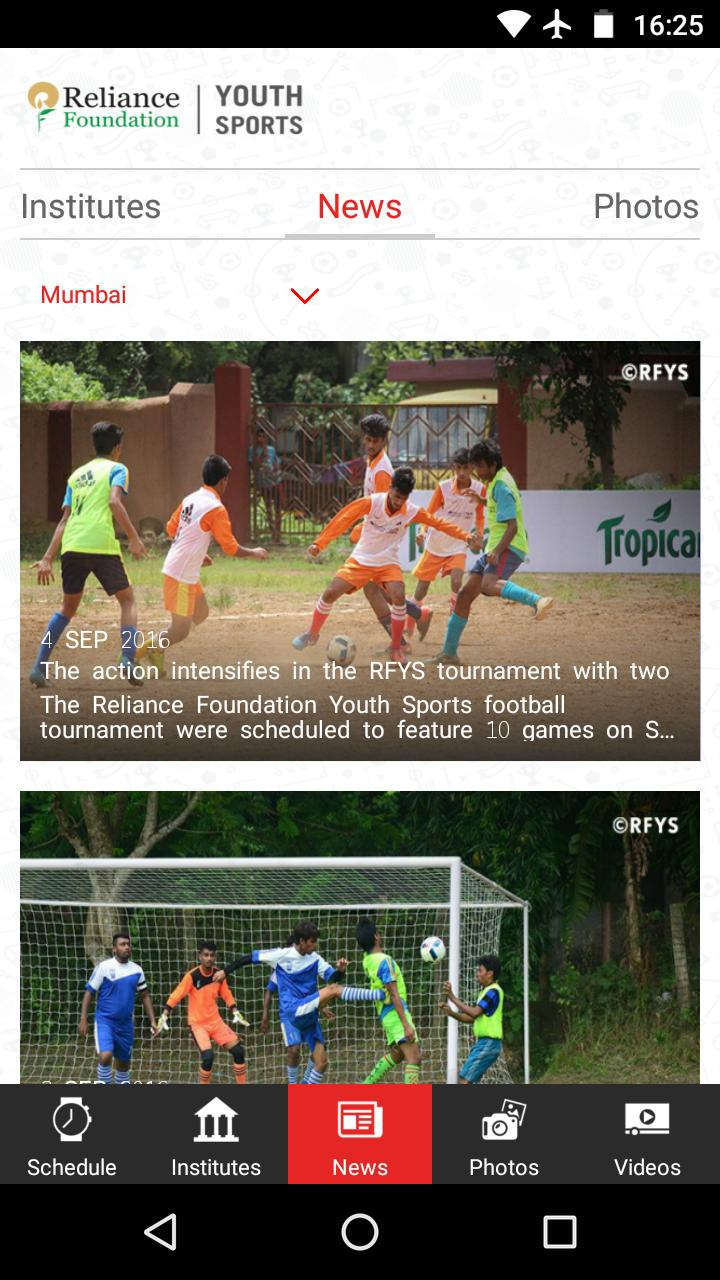 RF Youth Sports Official App for Android - APK Download