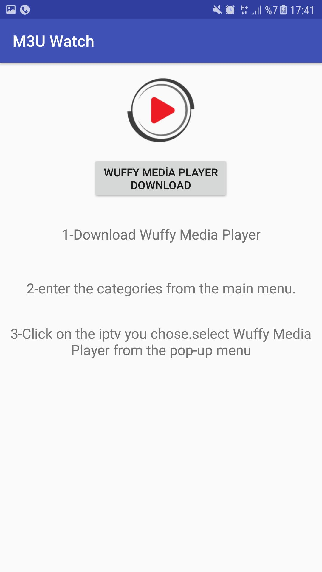 Wuffy Player
