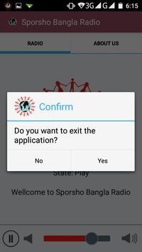 Sporsho Bangla Radio Official apk screenshot