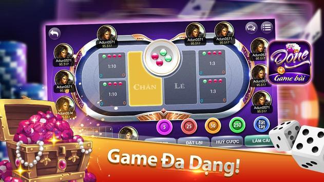 Game bai doi thuong Done poster
