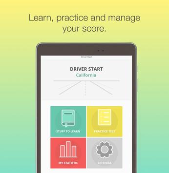 California DMV Motorcycle License knowledge test screenshot 5
