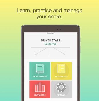 California DMV Motorcycle License knowledge test screenshot 10